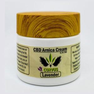 Corvus CBD Lavender Arnica Cream