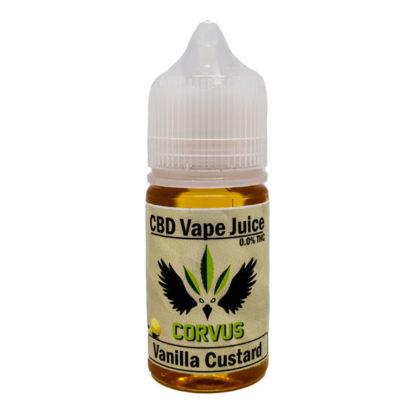 Vanilla Custard CBD Vape Juice