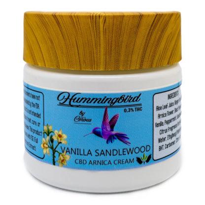 CBD Vanilla Sandalwood Arnica Cream